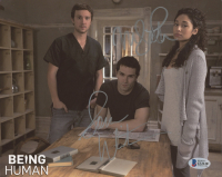 "Meaghan Rath & Sam Witwer Signed ""Being Human"" 8x10 Photo (Beckett COA) at PristineAuction.com"