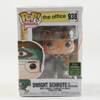 "Rainn Wilson Signed ""The Office"" #938 Dwight Schrute Funko Pop! Vinyl Figure (Beckett Hologram) at PristineAuction.com"