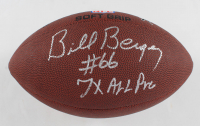 "Bill Bergey Signed NFL Football Inscribed ""7x All Pro"" (JSA COA) at PristineAuction.com"