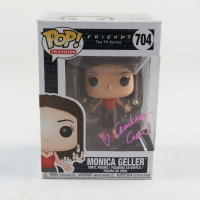 "Courteney Cox Signed ""Friends"" #704 Monica Geller Funko Pop! Vinyl Figure (PSA Hologram) at PristineAuction.com"