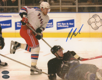 Pavel Bure Signed Rangers 8x10 Photo (Schwartz Sports COA) at PristineAuction.com