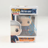 "Peter Capaldi Signed ""Doctor Who"" #238 Twelfth Doctor Funko Pop! Vinyl Figure (Beckett Hologram) at PristineAuction.com"