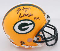 "Brett Favre & Ron Wolf Signed Packers Mini Helmet Inscribed ""92-01"" (JSA COA) at PristineAuction.com"