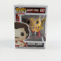 "Jack Black Signed ""Nacho Libre"" #647 Nacho Libre Funko Pop Vinyl Figure (PSA Hologram) at PristineAuction.com"