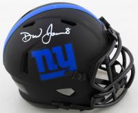 Daniel Jones Signed Giants Eclipse Alternate Speed Mini Helmet (Beckett COA) (See Description) at PristineAuction.com