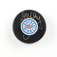 Don Cherry Signed Hockey Night in Canada Logo Hockey Puck (COJO COA) at PristineAuction.com