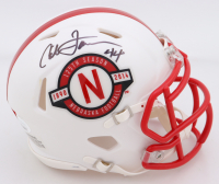 "Calvin Jones Signed Nebraska Cornhuskers ""125th Anniversary"" Speed Mini Helmet (JSA COA) at PristineAuction.com"