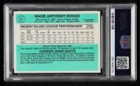 Wade Boggs Signed 1984 Donruss #151 (PSA Encapsulated) at PristineAuction.com