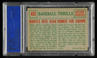 Mickey Mantle 1959 Topps #461 BT / 42nd Homer (PSA 6) at PristineAuction.com