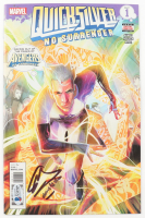 """Evan Peters Signed 2017 """"Quicksilver"""" Issue #1 Comic Book Inscribed """"Quicksilver"""" (Beckett COA) at PristineAuction.com"""