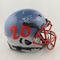 Saquon Barkley Signed Full-Size Authentic On-Field Hydro-Dipped Vengeance Helmet (Beckett COA) at PristineAuction.com