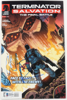 """Christian Bale Signed 2014 """"Terminator Salvation: The Final Battle"""" Issue #10 Comic Book (Beckett COA) at PristineAuction.com"""