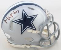 Michael Gallup Signed Cowboys Speed Mini Helmet (JSA COA) at PristineAuction.com