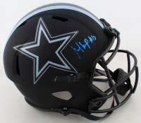 Michael Gallup Signed Cowboys Eclipse Alternate Full-Size Speed Helmet (JSA COA) at PristineAuction.com