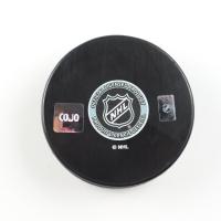 Milt Schmidt Signed Bruins Logo Hockey Puck (COJO COA) at PristineAuction.com