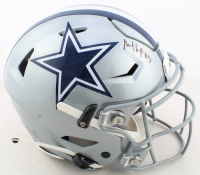 Michael Gallup Signed Cowboys Full-Size Authentic On-Field SpeedFlex Helmet (JSA COA) at PristineAuction.com