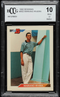 Mariano Rivera 1992 Bowman #302 RC (BCCG 10) at PristineAuction.com