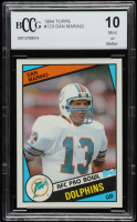 Dan Marino 1984 Topps #123 Pro Bowl RC (BCCG 10) at PristineAuction.com