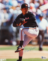 Mike Mussina Signed Orioles 8x10 Photo (Beckett COA) (See Description) at PristineAuction.com