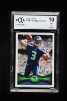 Russell Wilson 2012 Topps #165A RC (BCCG 10) at PristineAuction.com