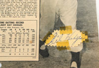 Gil Hodges Signed Dodgers 8x10 Newspaper Cut (Beckett Hologram) at PristineAuction.com
