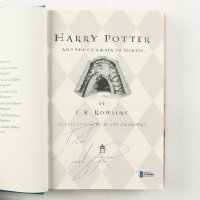 "Daniel Radcliffe Signed ""Harry Potter and The Chamber of Secrets"" Hard Cover Book (Beckett COA) at PristineAuction.com"