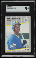 Ken Griffey Jr. 1989 Fleer #548 RC (SGC 10) at PristineAuction.com