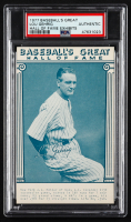 Lou Gehrig 1977 Baseball's Great Hall of Fame Exhibits Postcard (PSA Authentic) at PristineAuction.com