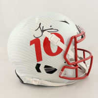 Tyreek Hill Signed Full-Size Authentic On-Field Hydro-Dipped Vengeance Helmet (JSA COA) at PristineAuction.com