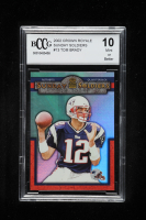 Tom Brady 2002 Crown Royale Sunday Soldiers #13 (BCCG 10) at PristineAuction.com