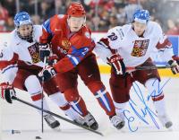 Evgeny Kuznetsov Signed Capitals 11x14 Photo (Beckett COA) at PristineAuction.com
