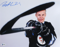 Patrik Laine Signed Jets 11x14 Photo (Beckett COA) at PristineAuction.com
