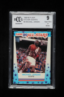 Michael Jordan 1989-90 Fleer Stickers #3 (BCCG 9) at PristineAuction.com