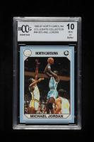 Michael Jordan 1990-91 North Carolina Collegiate Collection #44 (BCCG 10) at PristineAuction.com
