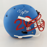 Zack Moss Signed Full-Size Authentic On-Field Helmet (Beckett COA) (See Description) at PristineAuction.com