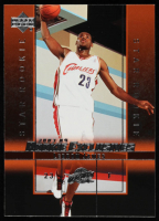 LeBron James 2003-04 Upper Deck Rookie Exclusives #1 RC at PristineAuction.com