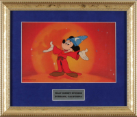 "Mickey Mouse ""The Sorcerer's Apprentice"" 12x14 Custom Framed Animation Cel Display at PristineAuction.com"