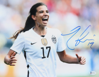 Tobin Heath Signed FIFA 2015 11x14 Photo (Beckett COA) at PristineAuction.com