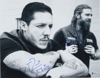 "Ryan Hurst & Theo Rossi Signed ""Sons of Anarchy"" 11x14 Photo Inscribed ""Juice"" & ""Opie"" (Beckett COA) at PristineAuction.com"