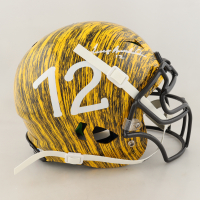 Terry Bradshaw Signed Full-Size Authentic On-Field Hydro-Dipped Vengeance Helmet (Beckett COA) at PristineAuction.com