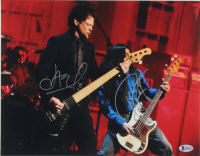 Robert Trujillo & Jason Newsted Signed 11x14 Photo (Beckett COA) at PristineAuction.com