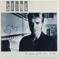 """Sting Signed """"The Dream of the Blue Turtles"""" Vinyl Record (Beckett Hologram) (See Description) at PristineAuction.com"""