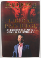 "Donald Trump Jr. Signed ""Liberal Privilege: Joe Biden and the Democrats' Defense of the Indefensible"" Hardcover Book (Beckett COA) at PristineAuction.com"