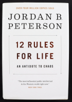 "Jordan Peterson Signed ""12 Rules For Life"" Hardcover Book (Beckett COA) at PristineAuction.com"