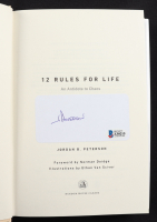 """Jordan Peterson Signed """"12 Rules For Life"""" Hardcover Book (Beckett COA) at PristineAuction.com"""
