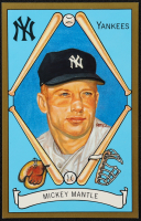 Mickey Mantle LE 1990-92 Perez-Steele Master Works #9 at PristineAuction.com