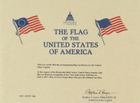 American Flag Flown Over the Capitol on 73rd Anniversary of D-Day June 6, 2017 (Architect of the Capitol COA) at PristineAuction.com