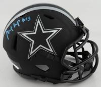 Michael Gallup Signed Cowboys Eclipse Alternate Speed Mini-Helmet (JSA COA) at PristineAuction.com