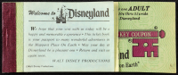 Disneyland Vintage Ticket Booklet with (8) Tickets at PristineAuction.com