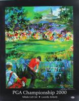 Leroy Neiman Signed 2000 PGA Championship 23x29 Print (Beckett COA) (See Description) at PristineAuction.com